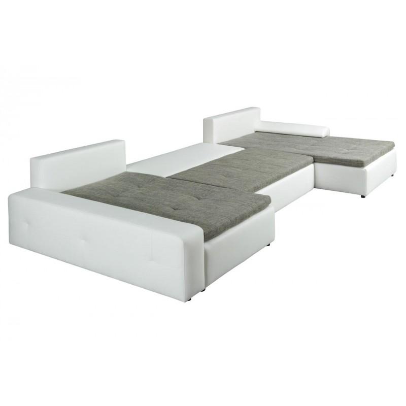 London Modern U Shape Sofa Bed Sofas Sena Home Furniture