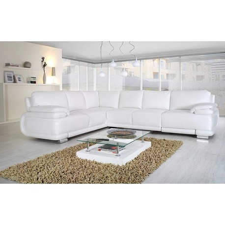 Davos III-Modern corner sofa Bed