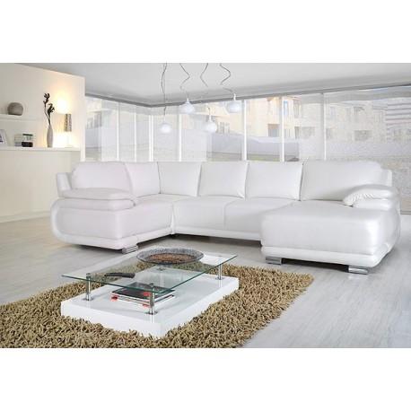 Davos IV-Modern U shape sofa Bed
