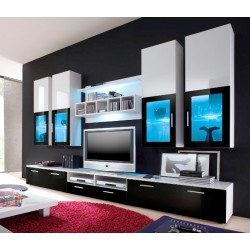 Lyon wall set - white & black