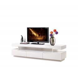 Rotterdam -large gloss tv unit with LED lights