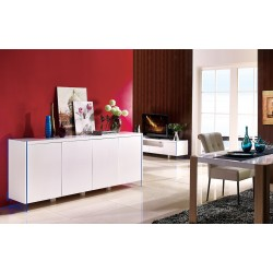 Lumio - lacquer sideboard with LED lights