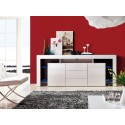 Roma - white sideboard with LED lights