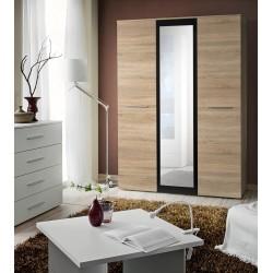 LASER II WARDROBE - wooden door finish