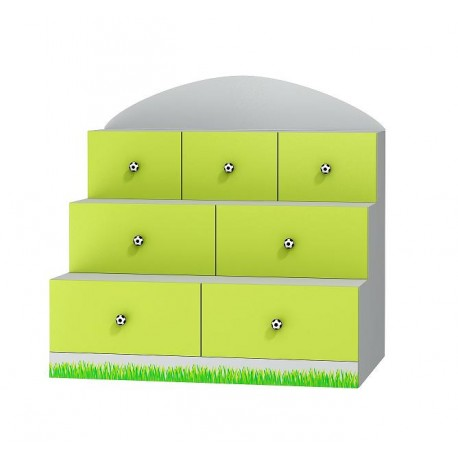 Football - terrace chest of drawers