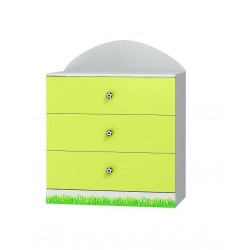 Football - chest of 3 drawers
