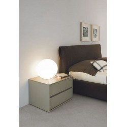 Silvia - luxury Italian bedside cabinet