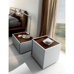 Alba - luxury Italian bedside cabinet