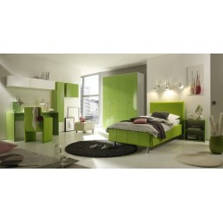 smart gloss modern designed bedroom furniture - Designed Bedroom