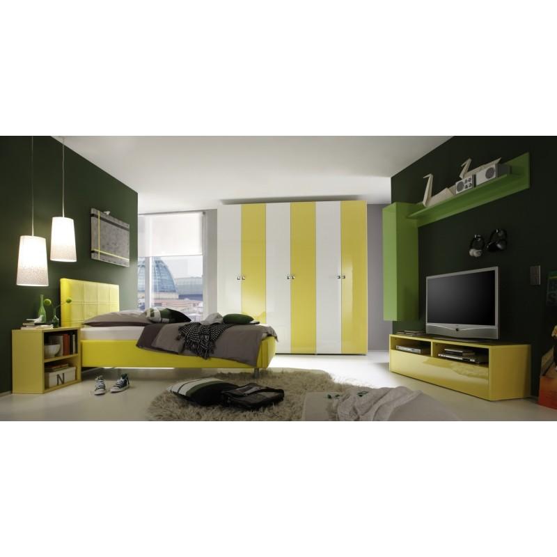 Smart Gloss Modern Designed Bedroom Furniture Bedroom Sets Sena