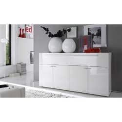 Primo - white gloss sideboard
