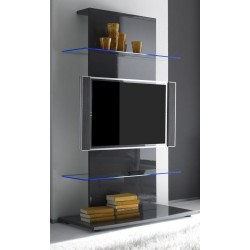 Primo - High Gloss tower TV Unit with optional LED lights