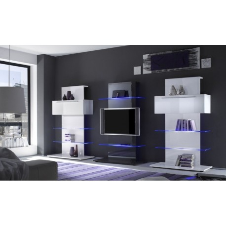 primo high gloss tower tv set tv stands home