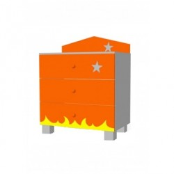 Rocket - chest of 3 drawers