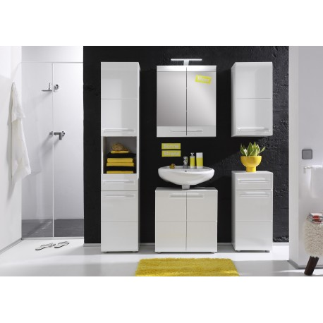 Bora - high gloss bathroom set