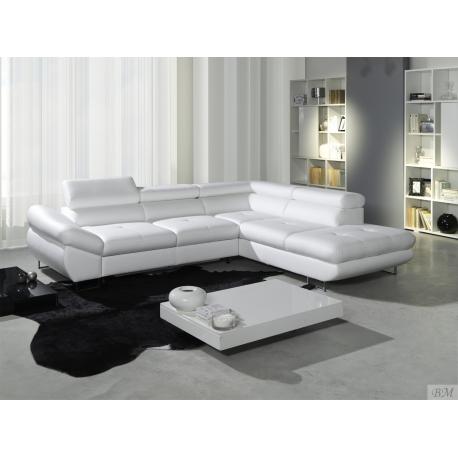 Beau Luton Modern Corner Sofa Bed