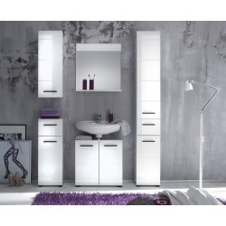 Illusion I  - high gloss bathroom set