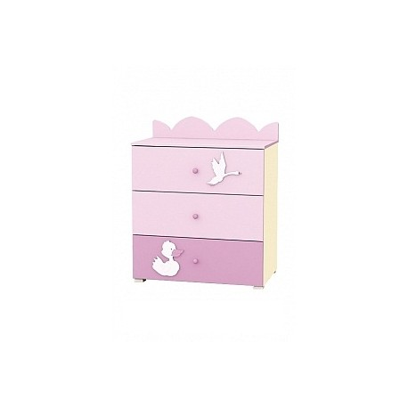 Swan - chest of 3 drawers