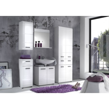 Illusion III - high gloss bathroom set