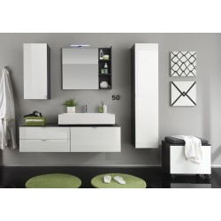 Bueno - high gloss bathroom set