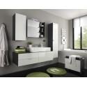 Bueno - high gloss bathroom set