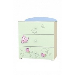 Secret Garden - chest of 3 drawers