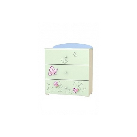 Secret Garden - chest of 3 drawers
