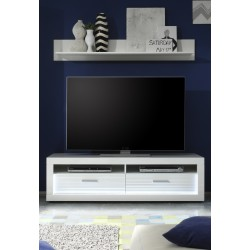 Iluminati II - gloss TV unit with LED lights