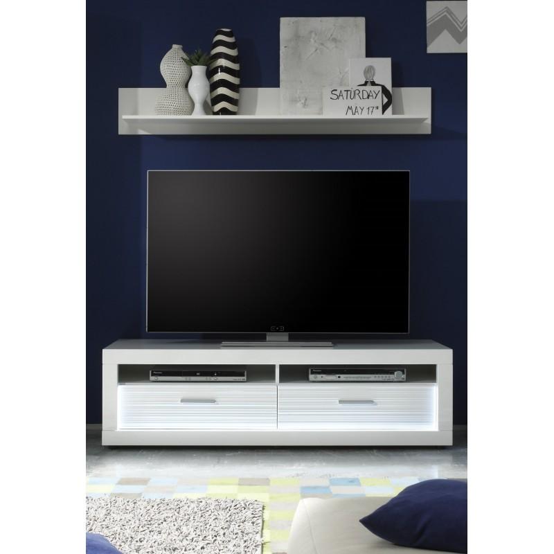 Led Tv Unit : Iluminati II - gloss TV unit with LED lights - TV stands - Sena Home ...