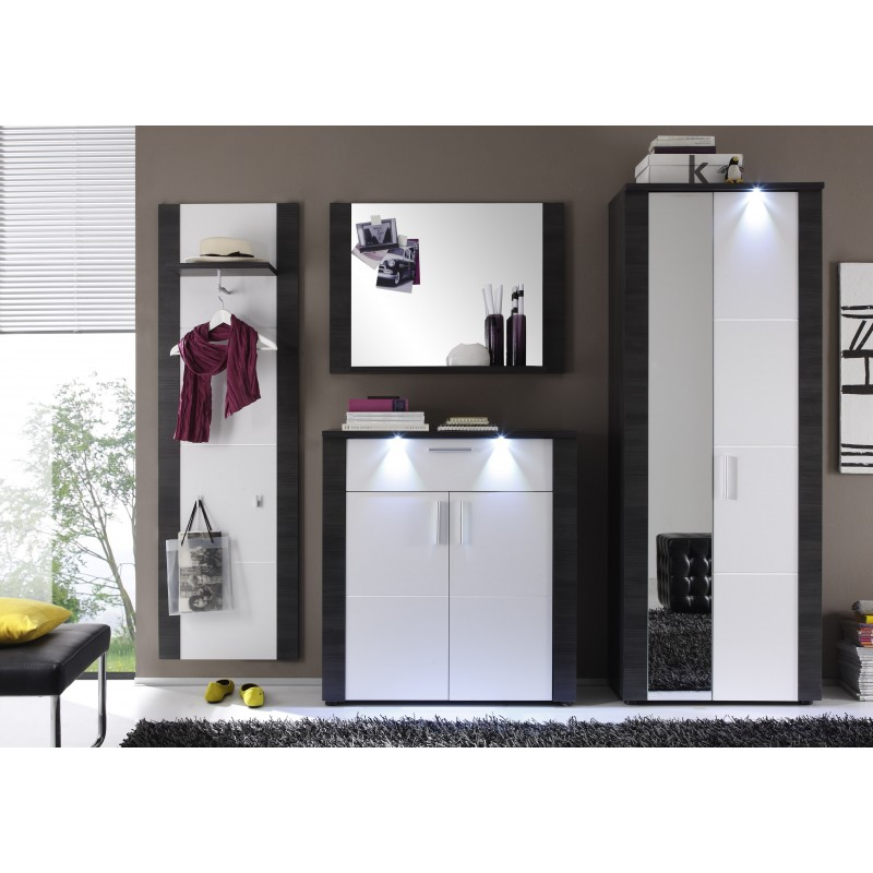 xpress hallway furniture with lights 1558 sena home. Black Bedroom Furniture Sets. Home Design Ideas