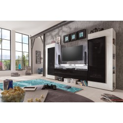 Cooper - modern TV wall set with led  lights