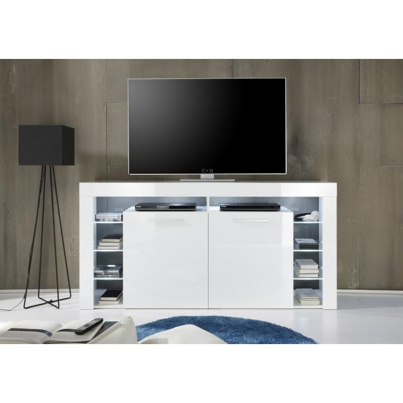 Score IV- Large gloss TV unit with LED lights - TV stands - Sena Home ...
