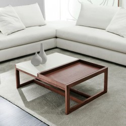Domino -bespoke lacquer coffee table