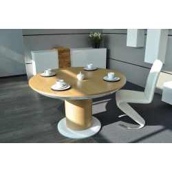 Impact II - large oval extending dining table
