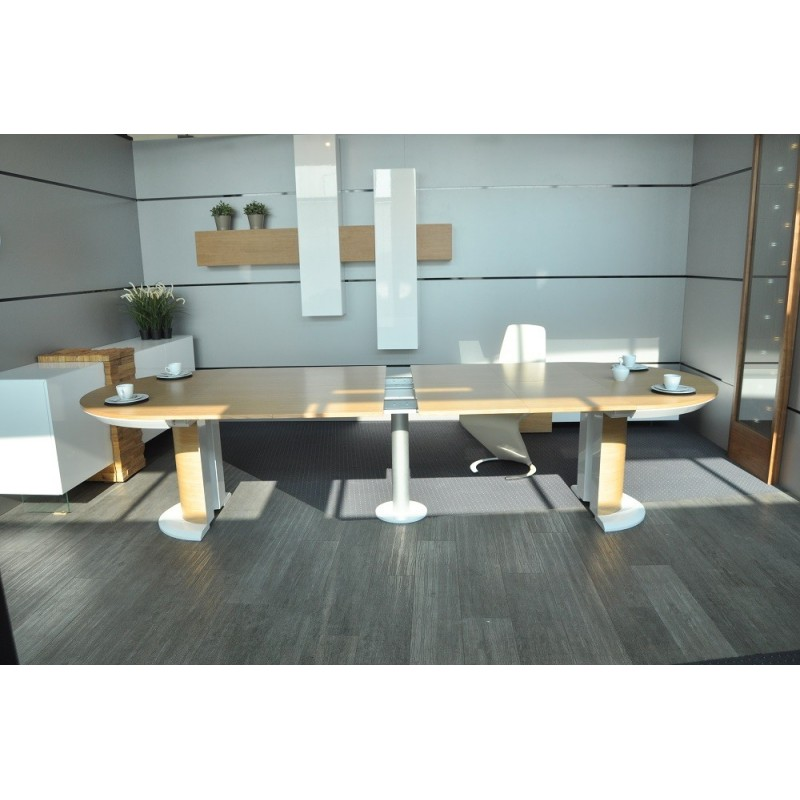 Impact II large oval extending dining table Dining  : impact ii large oval extending dining table from sena-homefurniture.co.uk size 800 x 800 jpeg 83kB