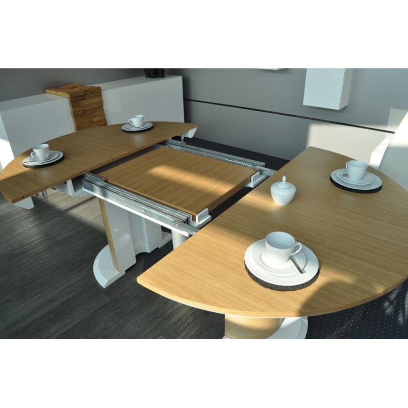Impact II Large Oval Extending Dining Table Dining Tables Sena Home Fur