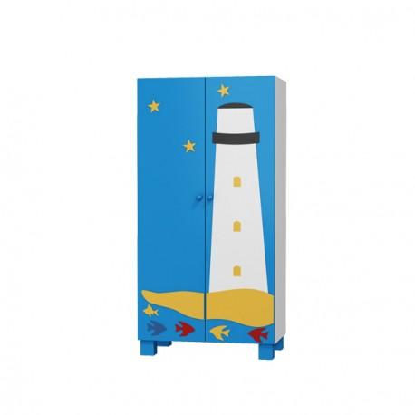 Boat - 2 door wardrobe