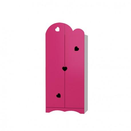 Romantic - 2 door wardrobe