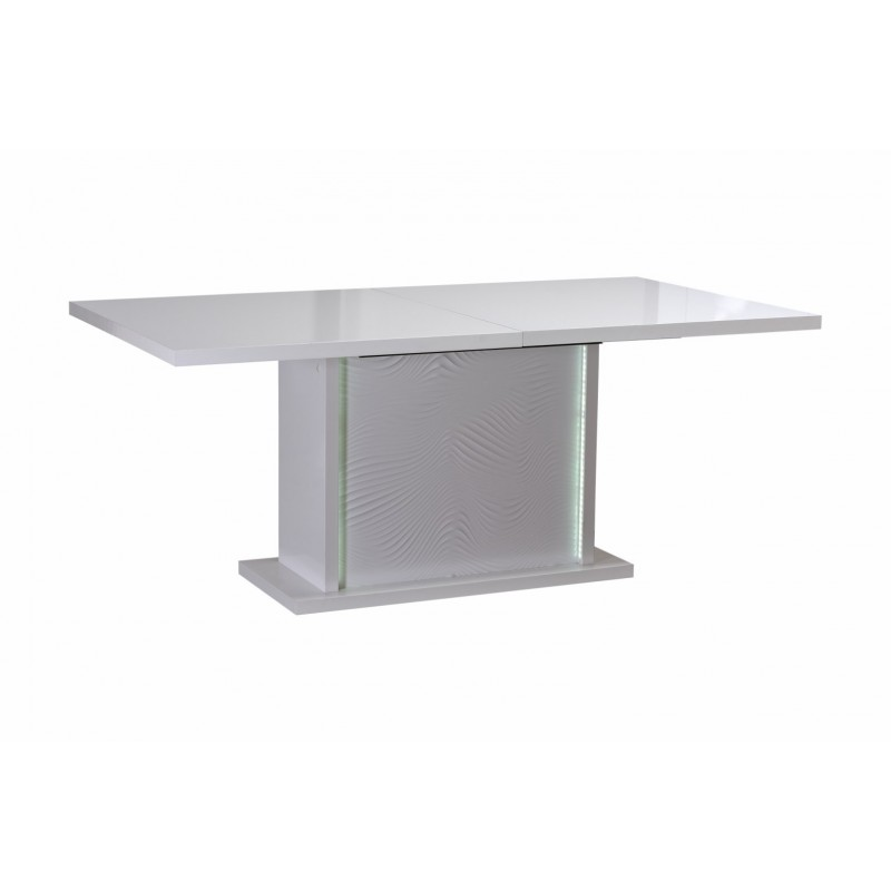 Karma  Extendable Lacquered Table With Lights   Dining Tables   Sena Home  Furniture