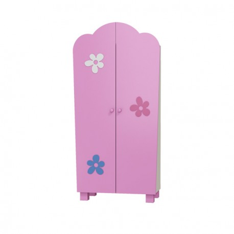FLOWER RANGE - 2 Door Wardrobe