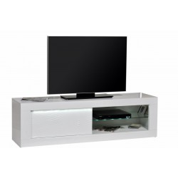 Samba - white gloss TV Unit with LED lights