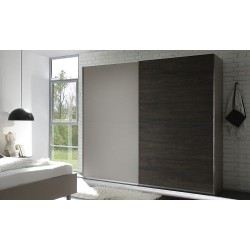 Tambura II - wardrobe beige and wenge