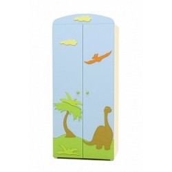 Dinosaur - double door wardrobe