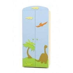 Dinosaur - double door wardrobe