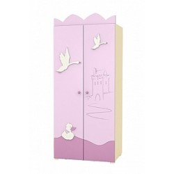 Swan - double door wardrobe