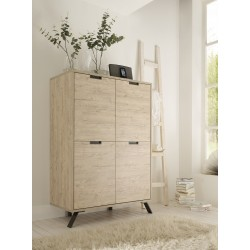 Parma-Light oak highboard