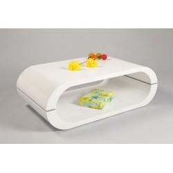 Mario - white gloss coffee table