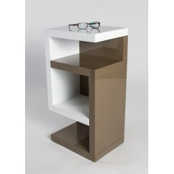 Henry -high gloss side table