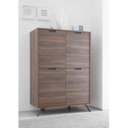 Parma-Dark Walnut highboard