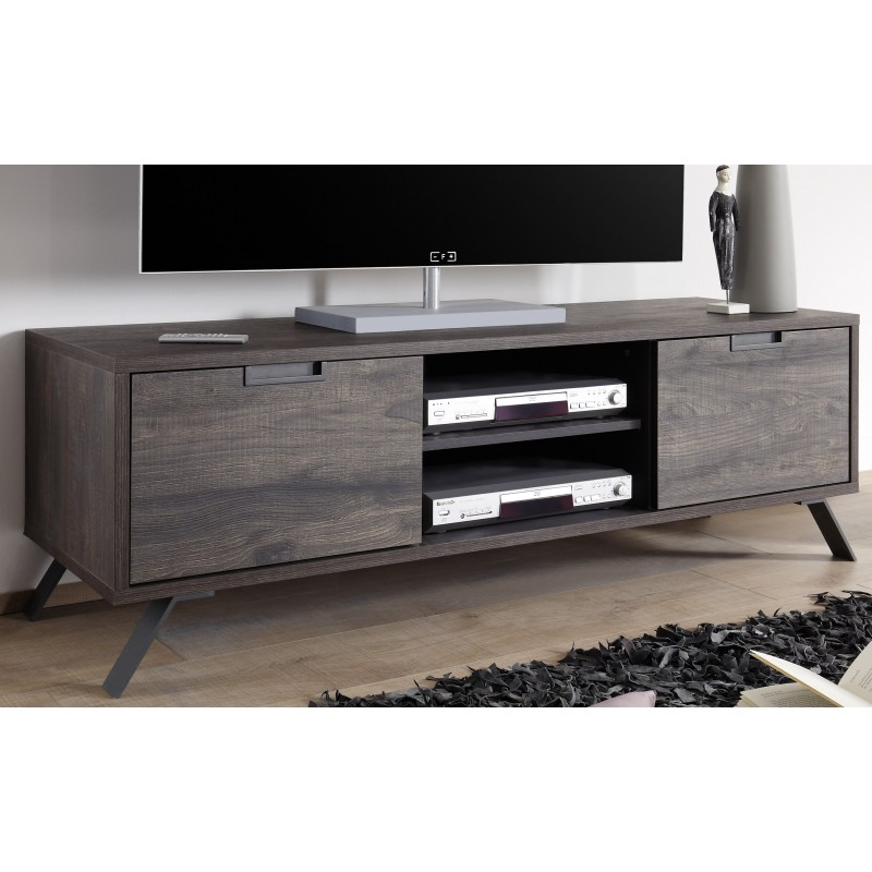 parma ii wenge finish tv stand tv stands sena home. Black Bedroom Furniture Sets. Home Design Ideas